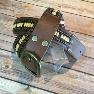 Lucky Brand Beaded BeltLarge/x-Large